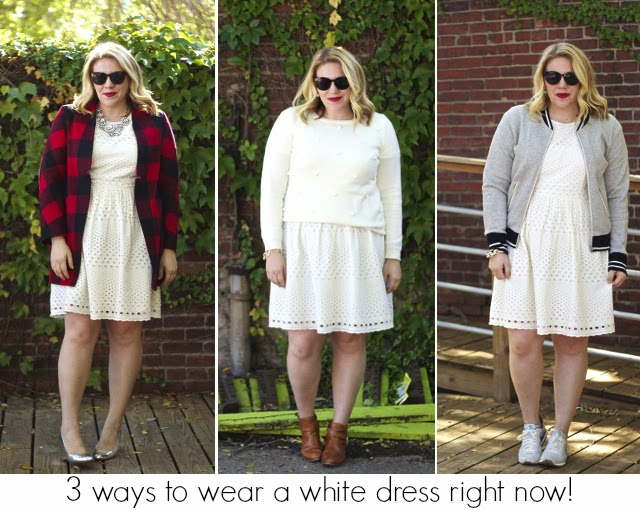 3 Ways To Wear A White Dress Right Now