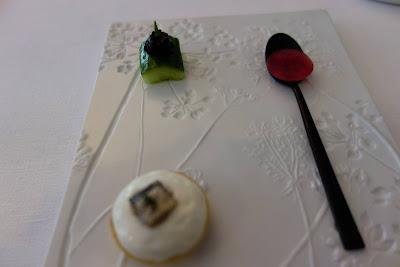 Amuses gueules restaurant Kei Paris 01, blog Délices à Paris.