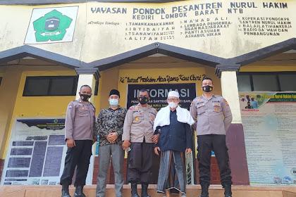 Jalin Silaturahmi, Kapolsek Baru Kediri Kunjungi Tokoh Agama