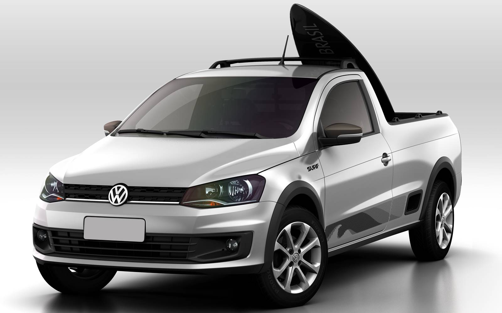 vw 39 s new surf themed 2015 saveiro small pickup carscoops. Black Bedroom Furniture Sets. Home Design Ideas