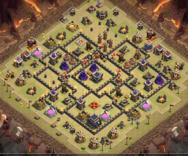 Base COC TH9 War 6
