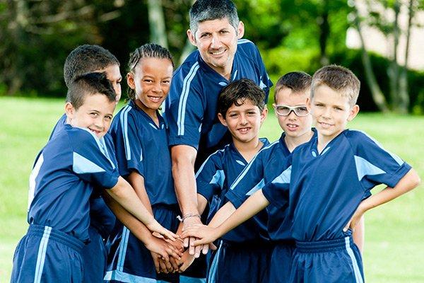 Entraîner des équipes sportives d'enfants