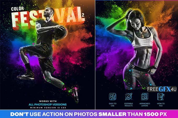 Color Festival 2 Photoshop Action