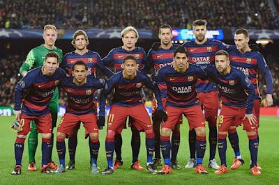 Daftar Skuad Pemain Barcelona 2015-2016