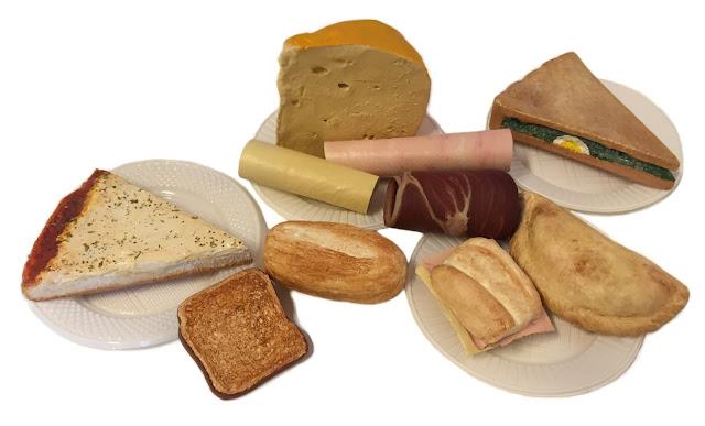 Replica Alimentos, Alimentos Imitados, alimentos de silicona, material didactico nutricion, nutricion saludable material didactico, alimentos tamaño real