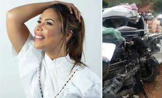 Amigos pedem orações por Amanda Wanessa; cantora gospel continua em UTI após acidente