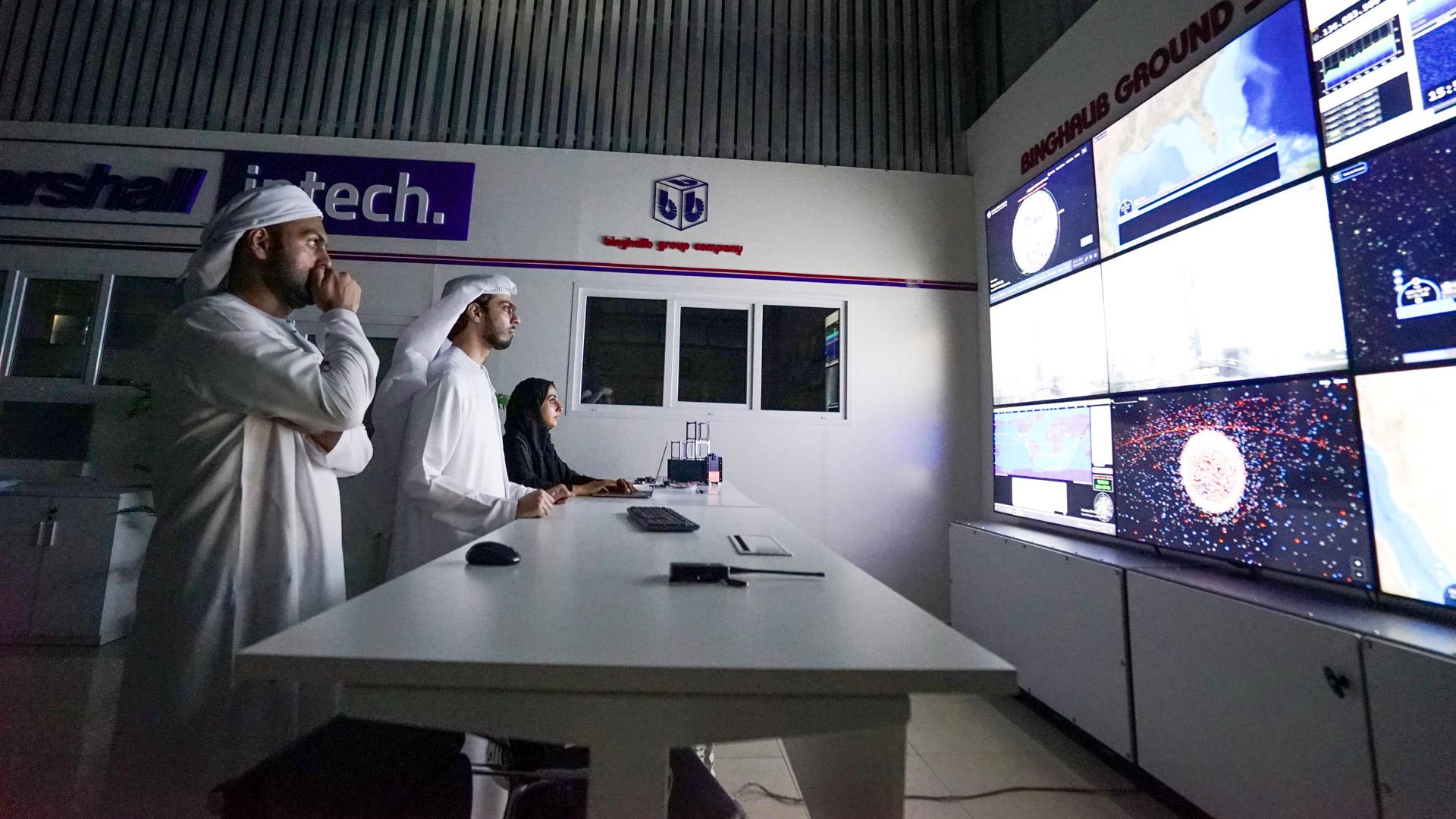 Emirati entrepreneurs launch first wildlife satellite in the UAE