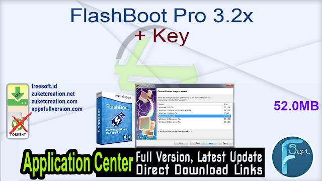 FlashBoot Pro 3.2x + Key