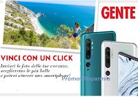 """Concorso GENTE """"Vinci con un Click"""" : in palio cellulari Xiaomi modello Mi Note 10 (599,90 euro)"""