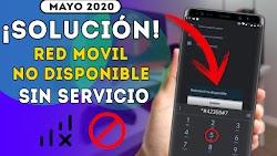 """SOLUCIÓN! Error """"Red No Disponible"""" Sin Señal - Sin Servicio Método Actualizado Sin Root / Mayo 2020"""