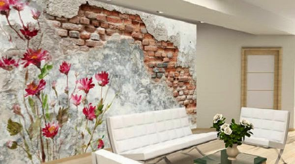 Wall Murals With Tree Design For Interior Decorating