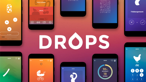 تحميل تطبيق Drops: Language learning - learn 35 languages! v33.22 (Premium) Apk  لتعلم اللغات