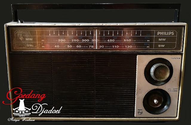 radio antik radio philips