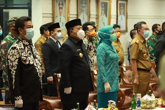 Hadapi Pilkada, Gubernur Arinal Kukuhkan 5 Pjs Bupati Dan 1 Plt Bupati Di Lampung