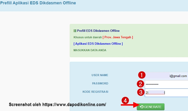 Cara Download Prefill PMP Versi 2019.11/EDS Dikdasmen Offline