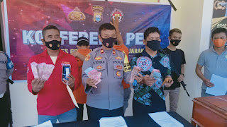 Berangkat Sholat Terawih, Uang 145 Juta Raib, Dua Pelaku Diringkus Polisi