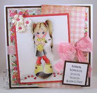 Monthly Card Kit Valentine Petals