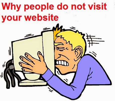 people no visit website