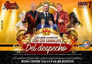 Concierto | Dario Gomez - Luis Alberto Posada - Charrito Negro