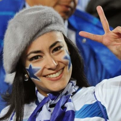 World Cup Brazil 2014: sexy hot girls football fan, beautiful woman supporter of the world. Pretty amateur girls, pics and photos   Honduras hondureñas