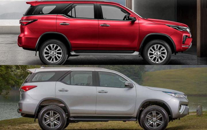 5 cải tiến trên Toyota Fortuner mới so với mẫu cũ