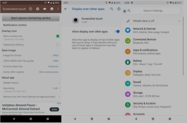 Cara Screenshot Samsung A9 6