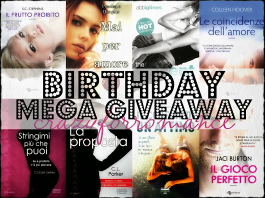 Birthday mega giveaway: Due anni insieme!