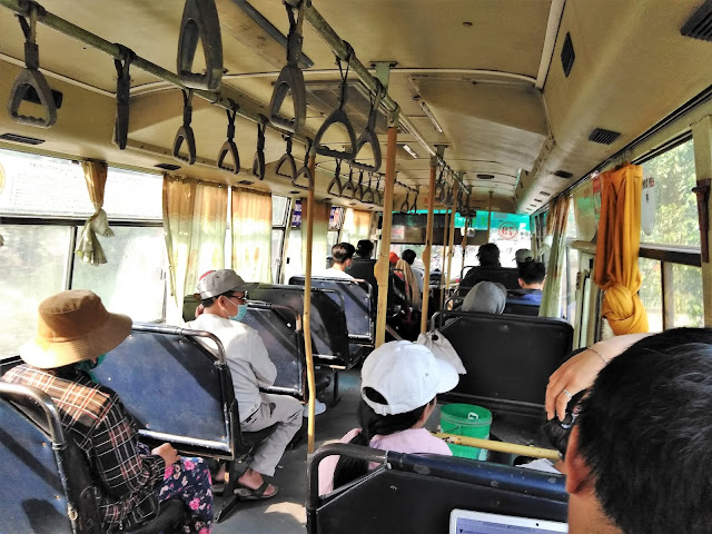 public bus cu chi tunnels vietnam
