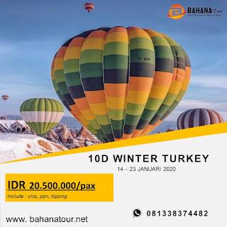 PAKET TOUR TURKI BAHANA TOUR SEMARANG 2020