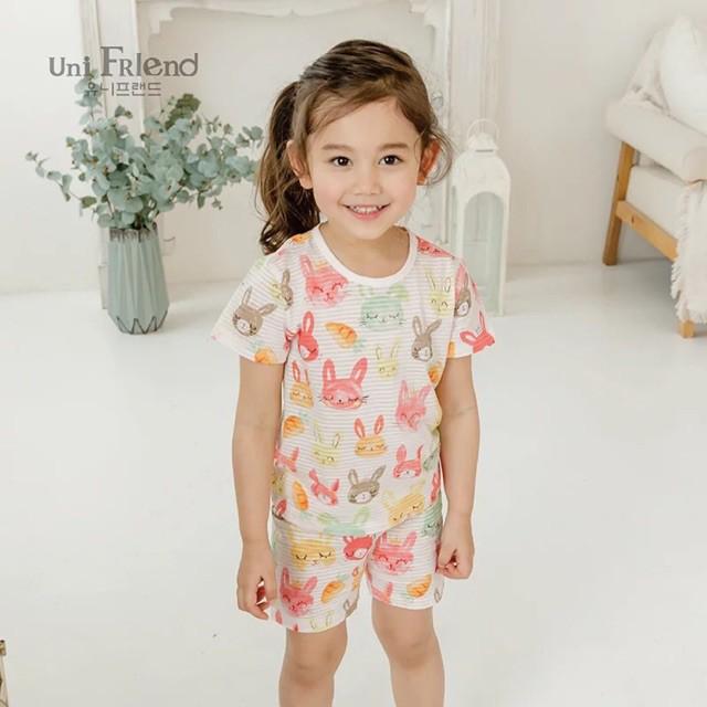 Quần áo trẻ em may bằng vải sợi tre