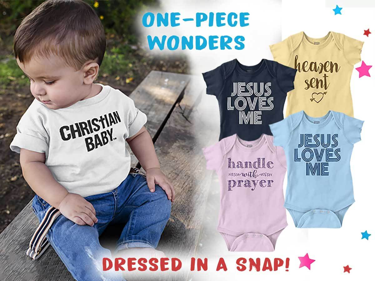 Christian Strong Baby Infant Toddler Tees T-Shirt
