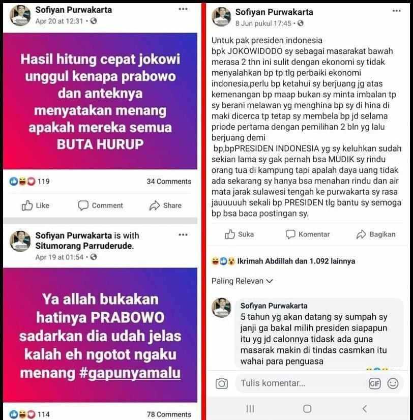 Ngaku Hidup Susah, Surat Pendukung Jokowi Bikin Miris