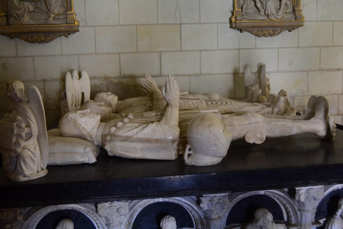gisant des deux époux Batarnay