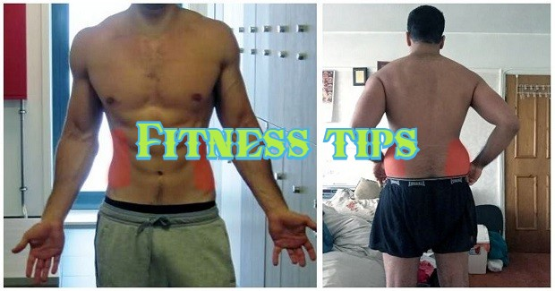 Best way to lose love handles and lower belly fat