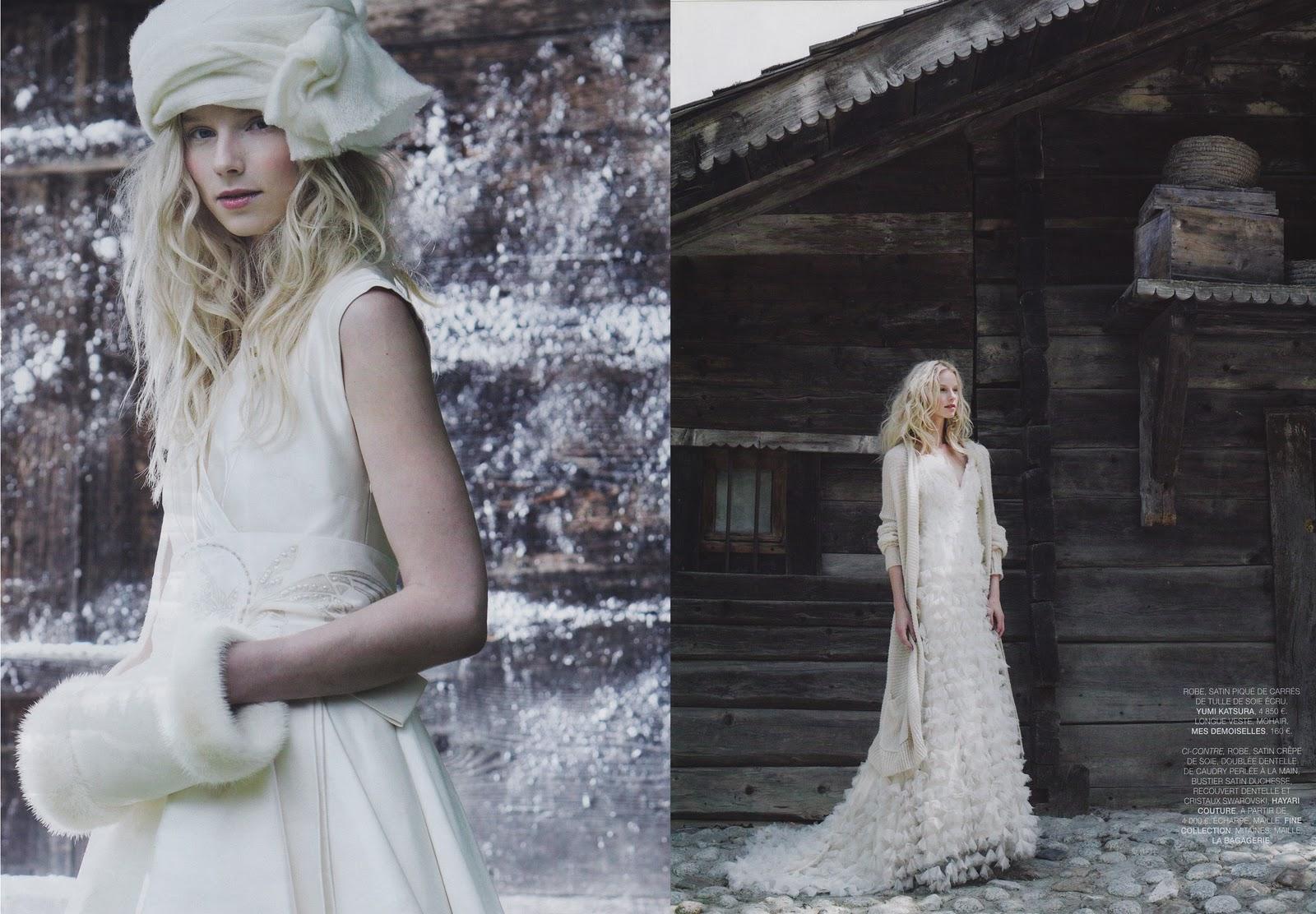Wedding Dress Ideas: Stephmodo: Winter Wedding Ideas From France