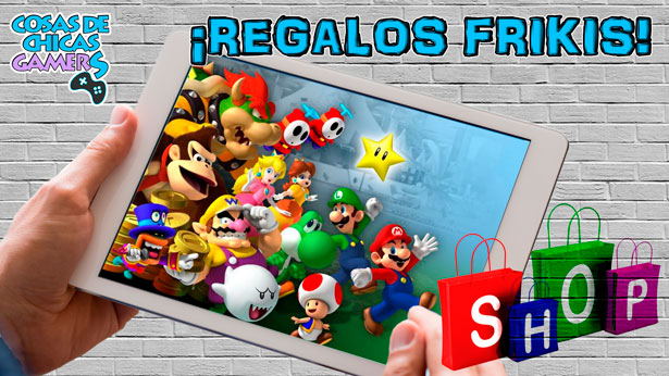 Regalos frikis saga Mario Bros