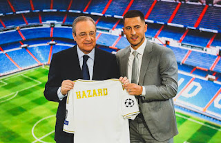 Real Madrid deny rumor they paid €160m fee for Eden Hazard, want Chelsea to publicly disclose figure