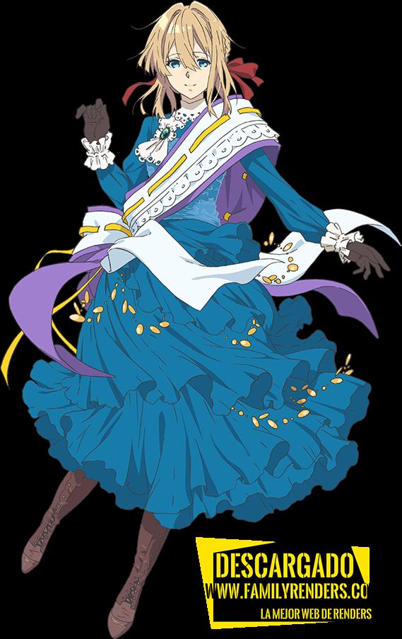 render violet evergarden