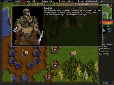en Battle of Wesnoth manejaras diversas razas, cada una con habilidades sorprendentes
