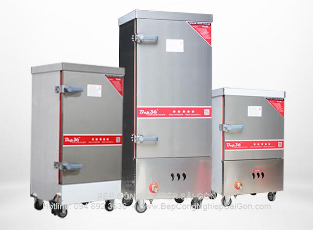 Tủ hấp - Tủ nấu cơm công nghiệp