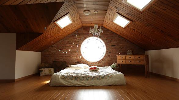 White Throw Pillow on Bed