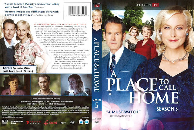 A Place to Call Home Season 5 DVD Cover