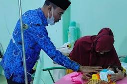 Djufri Muhammad Janji Akan Fasilitasi Pengobatan Nazilla, Anak Halbar Penderita Tumor