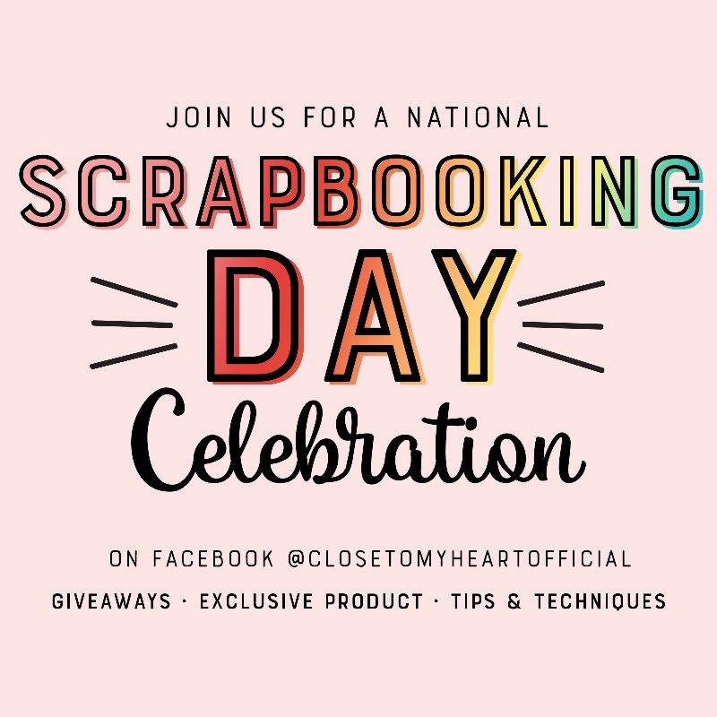 CTMH National Scrapbooking Celebration Sale