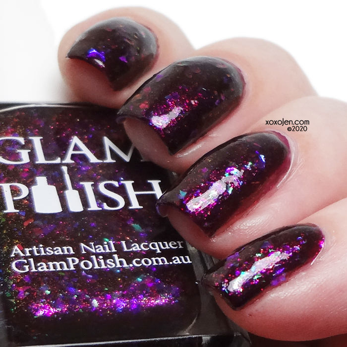 xoxoJen's swatch of Glam Polish You're The One, Buffy