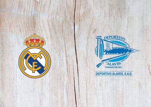 Real Madrid vs Deportivo Alavés Full Match & Highlights 10 July 2020