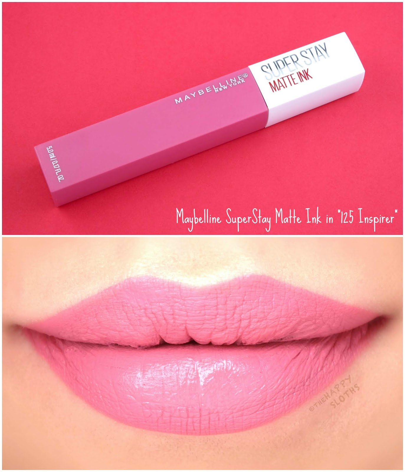 "Maybelline | SuperStay Matte Ink City Edition in ""125 Inspirer"": Review and Swatches"