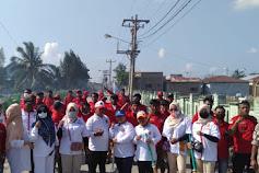 Kolaborasi, PAC Partai Gerindra Belawan Gelar Bakti Sosial