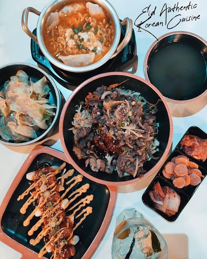 Kedai Makan Korea Sedap di Bangi