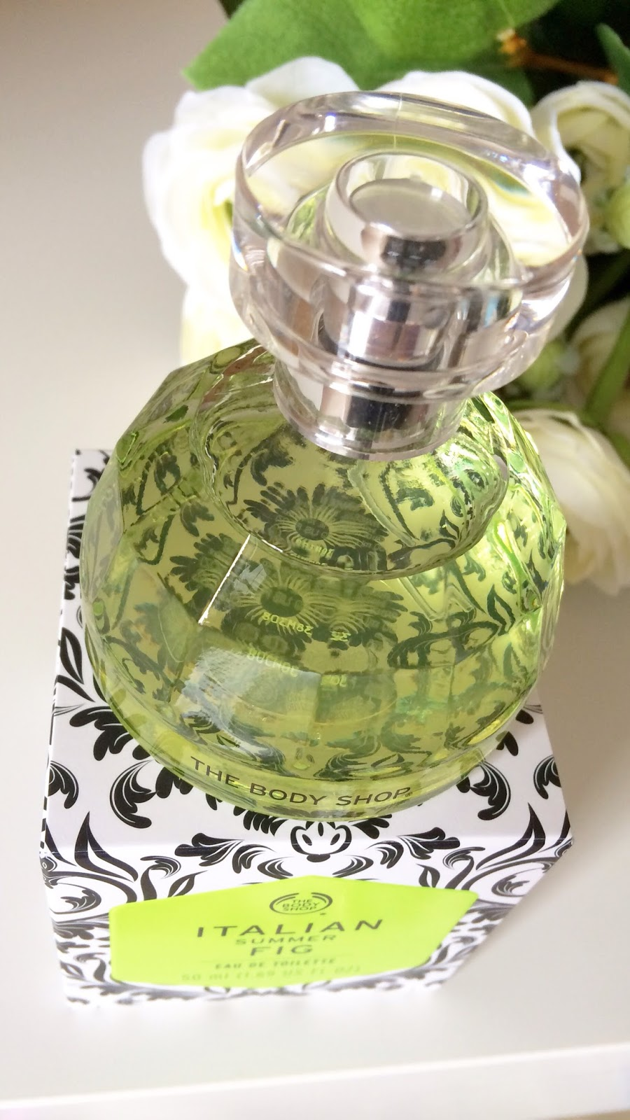 The Body Shop perfume Italian summer fig